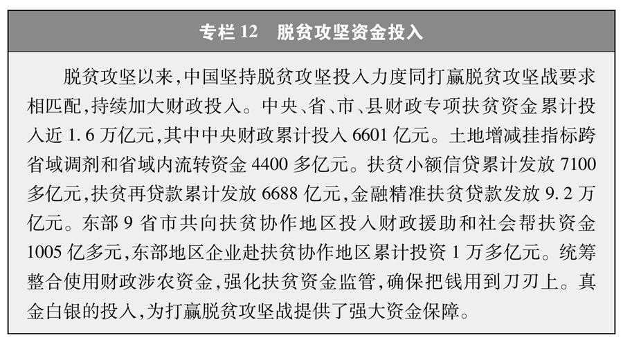 《人类减贫的中国实践》白皮书(全文)(图16)