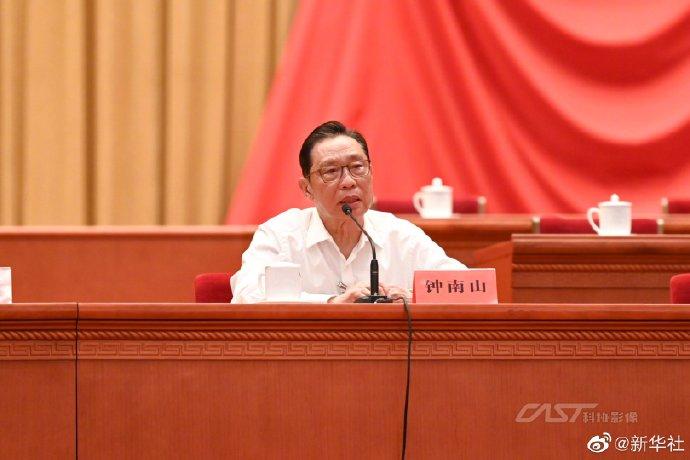 钟南山希望新冠病毒疫苗接种年内超80%