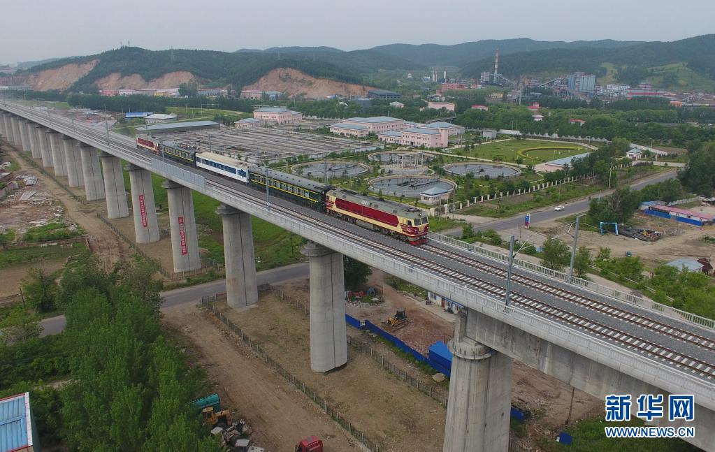 牡佳高铁进入联调联试阶段 线路全长370余公里