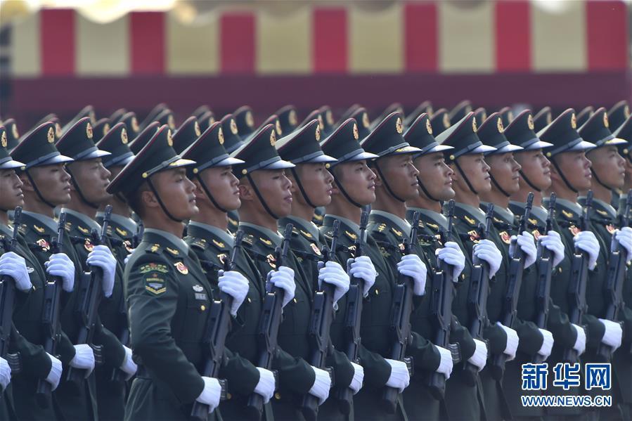 庆祝中华人民共和国成立70周年大会在京隆重举行(七)