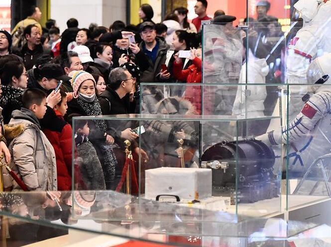 庆祝改革开放40周年大型展览春节迎客超35万人