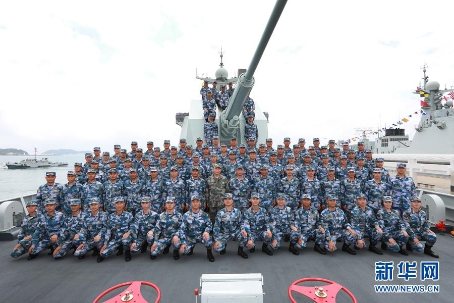 习近平:把人民海军全面建成世界一流海军