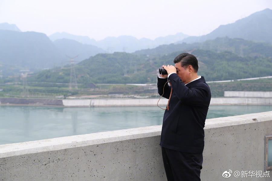 江苏快三推荐和值推荐:习近平考察三峡工程:大国重器必须掌握在我们自己手里