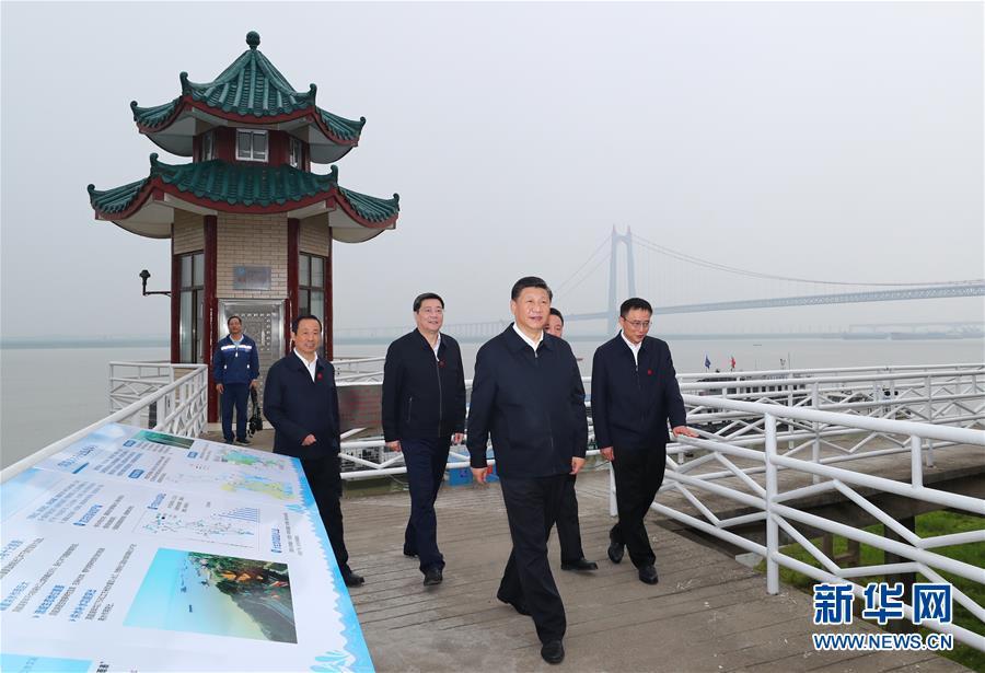(时政)(20)习近平主持召开深入推动长江经济带发展座谈会并发表重要讲话
