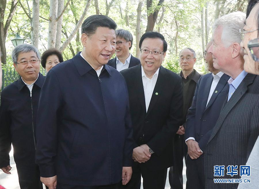 习近平考察北京大学:努力建设中国特色世界一流大学
