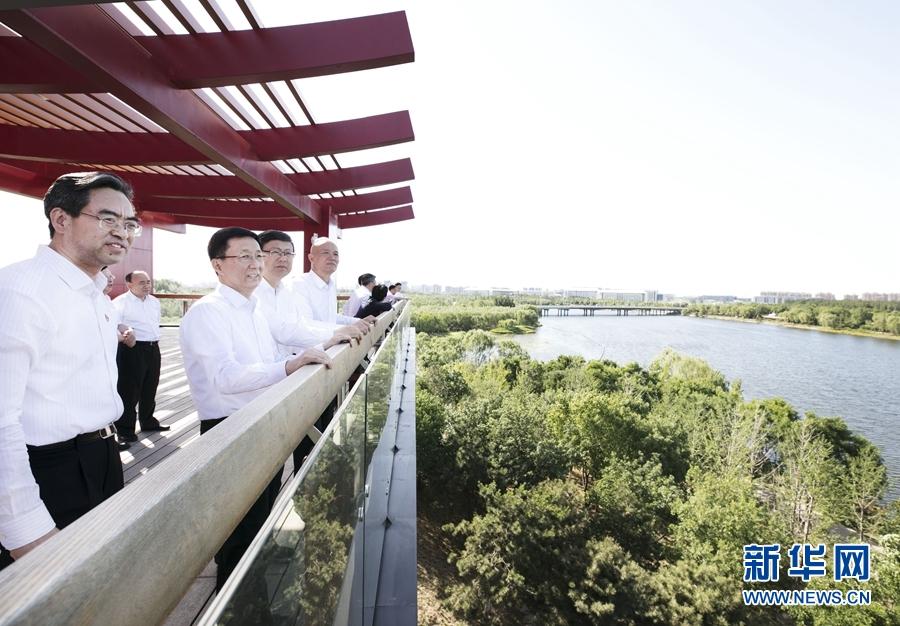 韩正:坚持高起点高标准高水平 规划建设管理好北京城市副中心