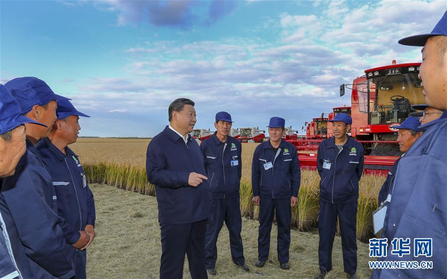 (时政)(6)习近平在东北三省考察并主持召开深入推进东北振兴座谈会
