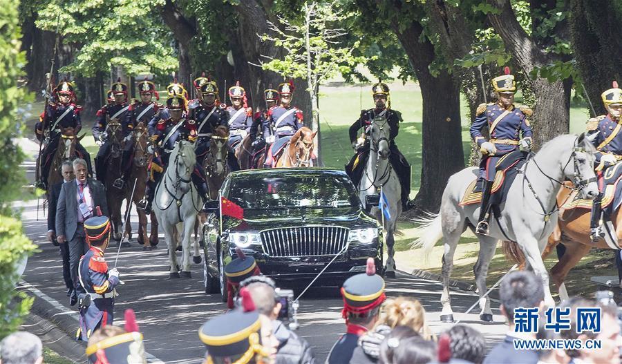(XHDW)(2)习近平同阿根廷总统马克里举行谈判