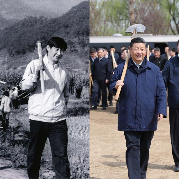 习近平总书记这个动作,数十年未曾改变