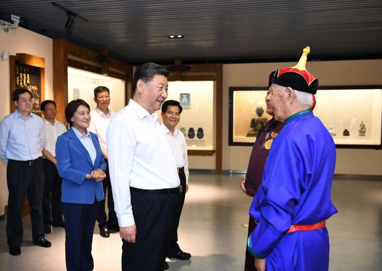 5个镜头:习近平总书记同内蒙古各族人民在一起