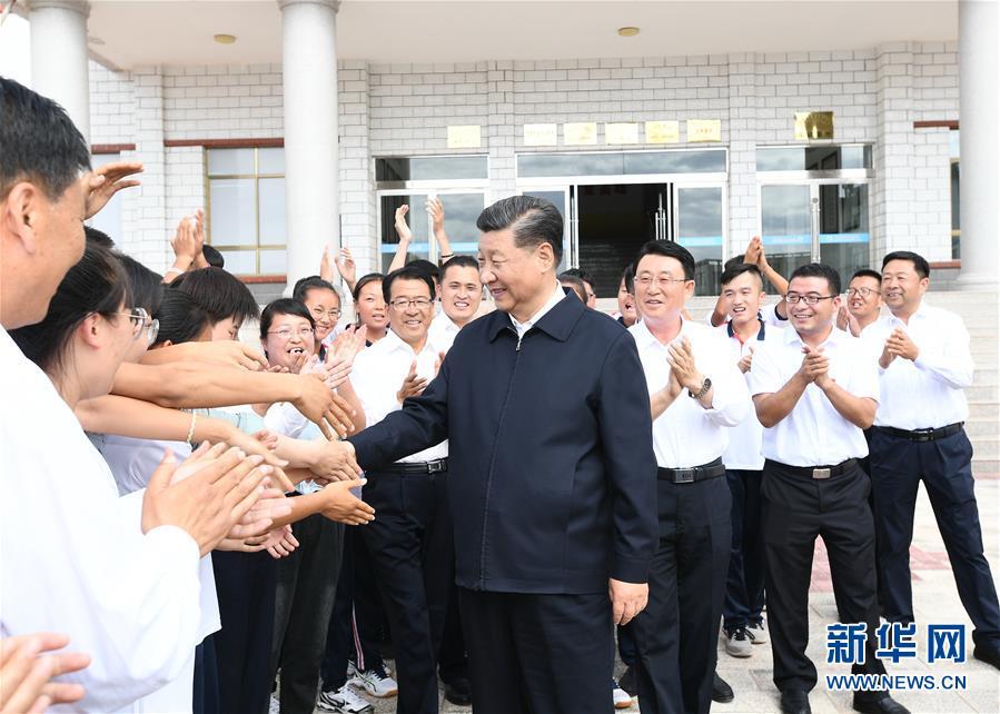 (XHDW)(1)习近平考察山丹培黎学校和山丹马场