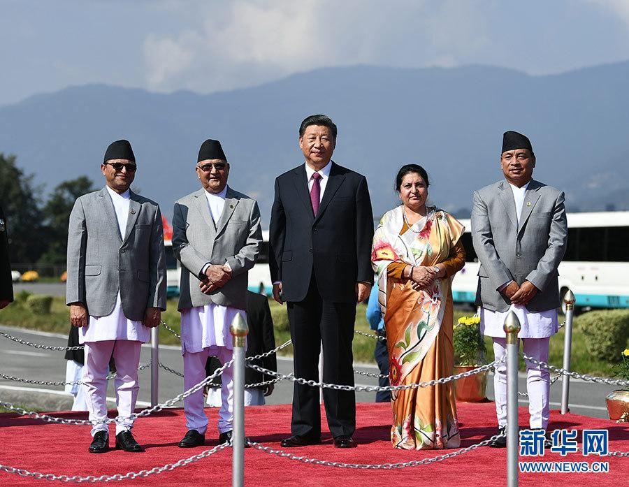 习近平结束同印度总理第二次非正