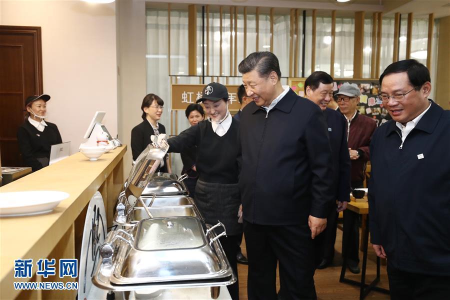 (XHDW)(6)习近平在上海考察调研