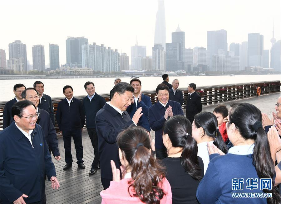 (XHDW)(1)习近平在上海考♂察调研