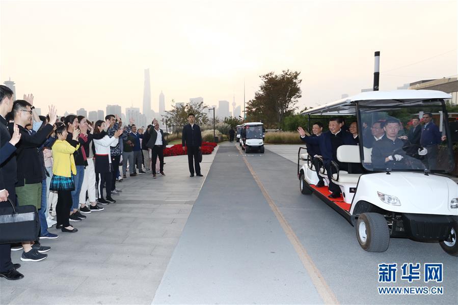 (XHDW)(2)习近平在上海考察调研