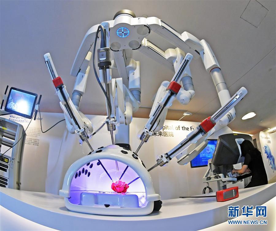(在習近平新時代中國特色社會主義思想指引下——新時代新作為新篇章·總書記關切高質量發展·科技創新·圖文互動)(1)你好,機器人!