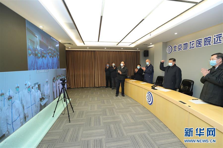 (时政)(2)习近平在北京市调研指点新型冠状病毒肺炎疫情防控任务