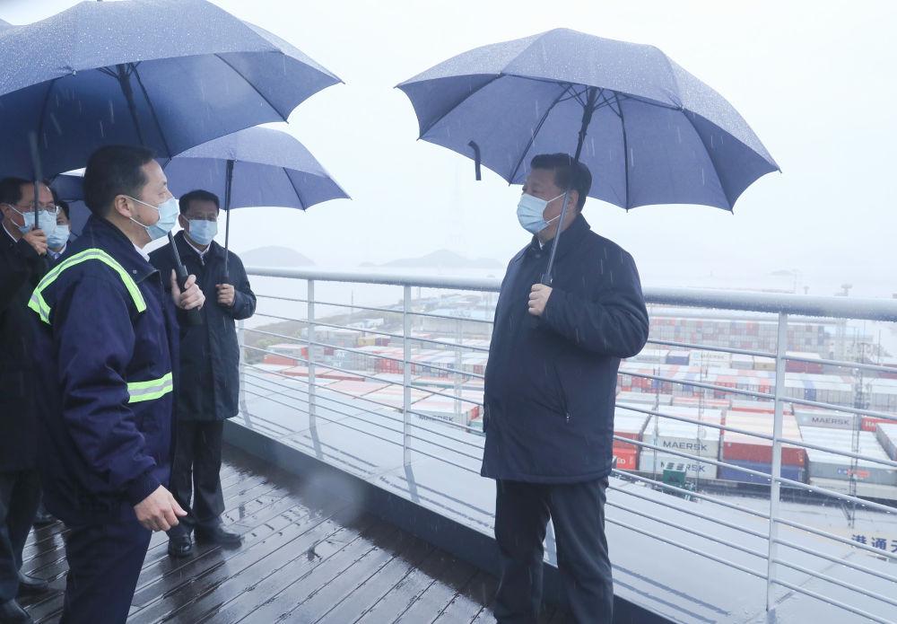 第一观察 总书记浙江考察,戴不戴口罩有讲究