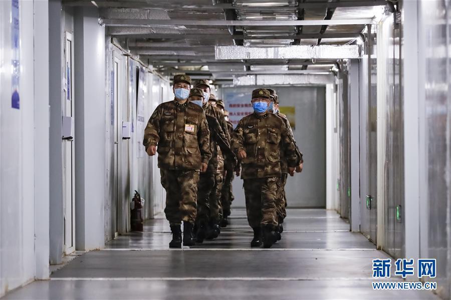 (图文互动)(2)经中央军委主席习近平批准 军队支援湖北医疗队圆满完成任务回撤