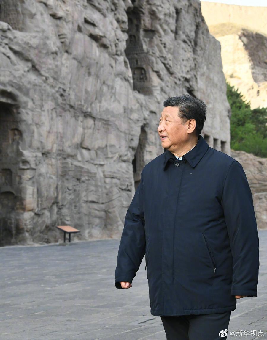 习近平谈云冈石窟:这是人类文明的瑰宝,要坚持保护第一