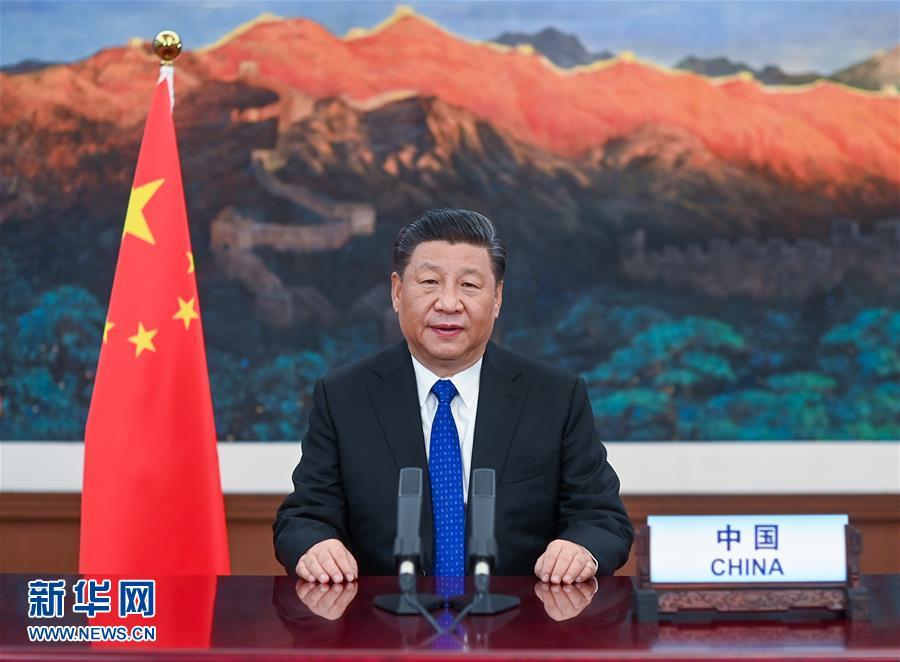 (时政)习近平在第73届世界卫生大会视频会议开幕式上致辞