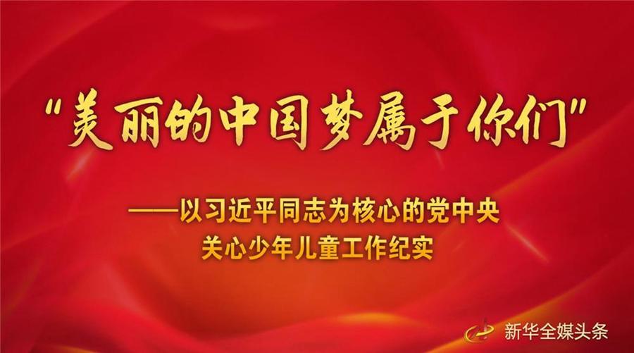 """党的中国梦_""""美丽的中国梦属于你们""""——以习近平同志为核心的党中央 ..."""