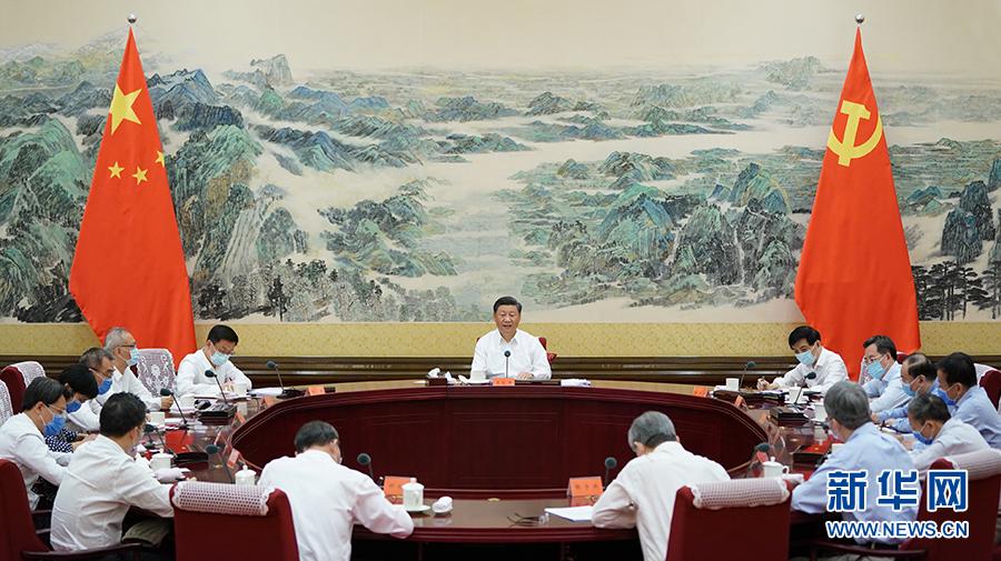 习近平主持召开经济社会领域专家座谈会并发表重要讲话