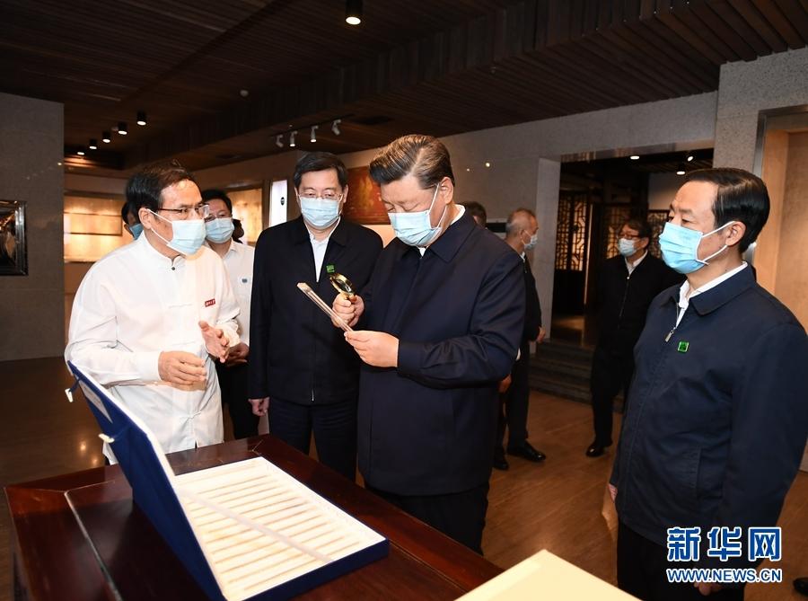 9月16日至18日,中共中央总书记、国家主席、中央军委主席习近平在湖南考察。