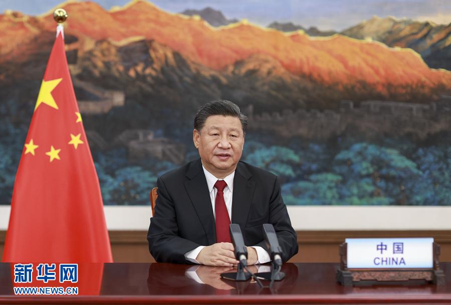 习近平在第三届巴黎和平论坛发表视频致辞