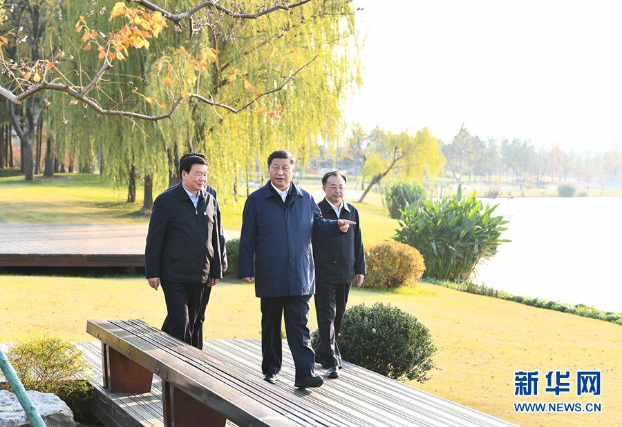 新华网记者:习近平在江苏考察时强调 贯彻新发展理念构建新发展格局 推动经济社会高质量发展可持续发展