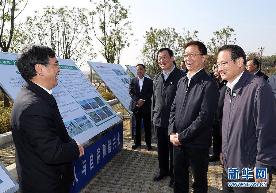 韩正:在江西调研强调 强化创新驱动 坚持绿色发展 推动高质量发展取得新成效