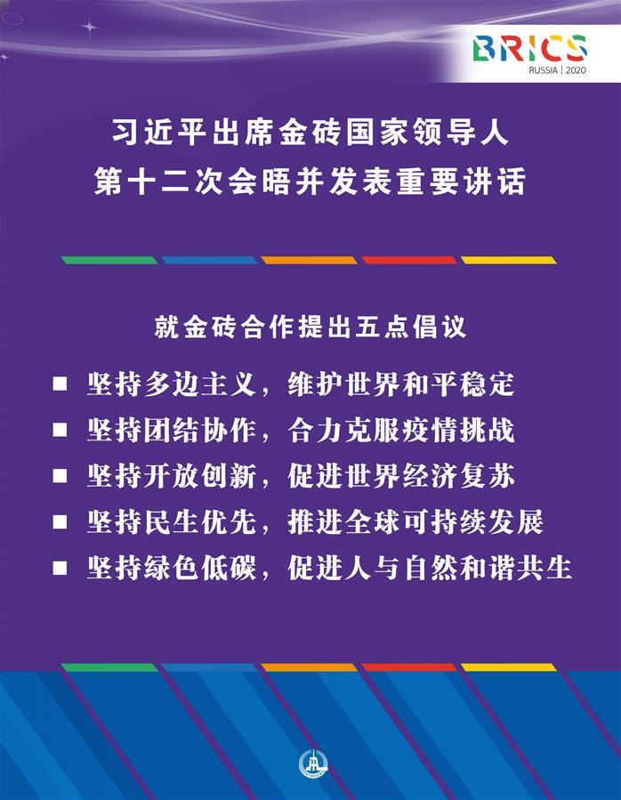 (图表·海报)[外事]习近平出席金砖国家领导人第十二次会晤并发表重要讲话(13)