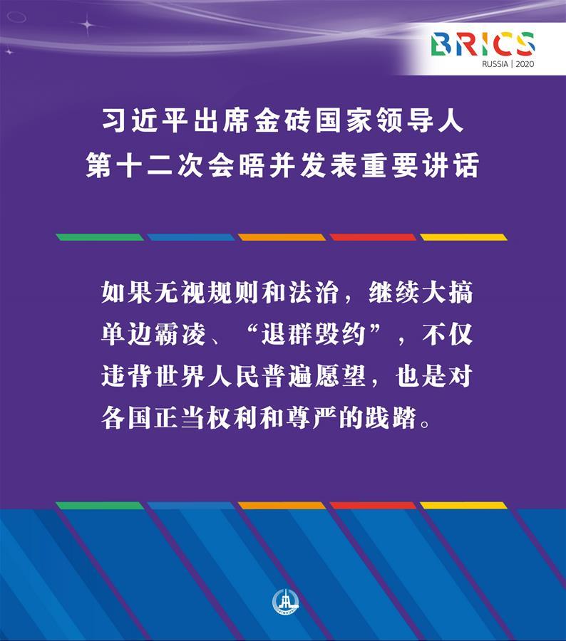 (图表·海报)[外事]习近平出席金砖国家领导人第十二次会晤并发表重要讲话(4)