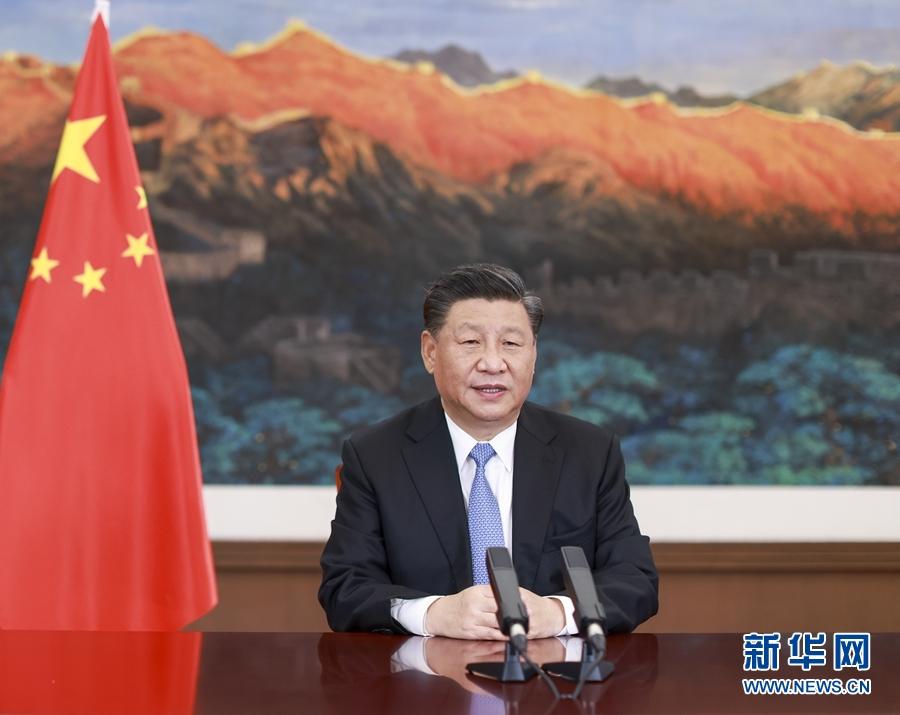 习近平在第十七届中国-东盟博览会和中国-东盟商务与投资峰会开