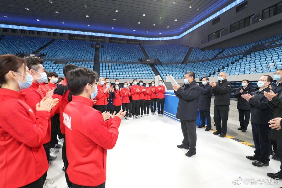 习近平谈冬奥会筹办工作:对办好这一届盛会充满信心
