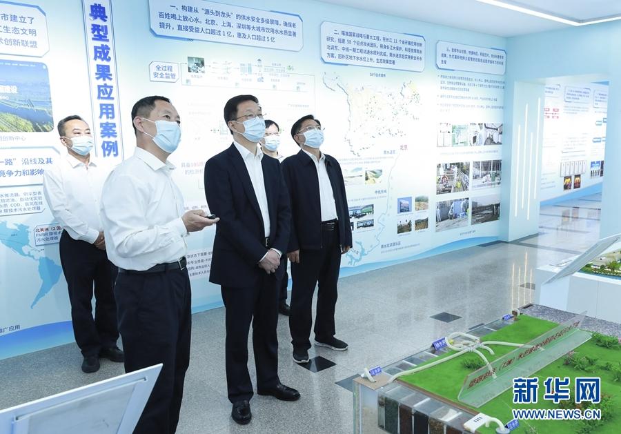 韩正:持之以恒推进生态环境保护重点工作