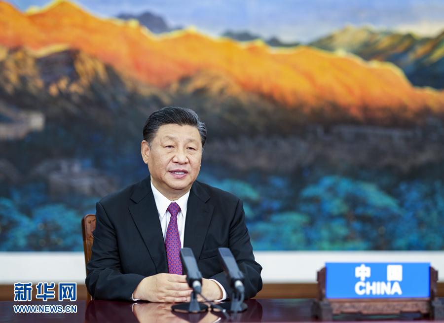 习近平出席亚太经合组织领导人非正式会议并发表讲话