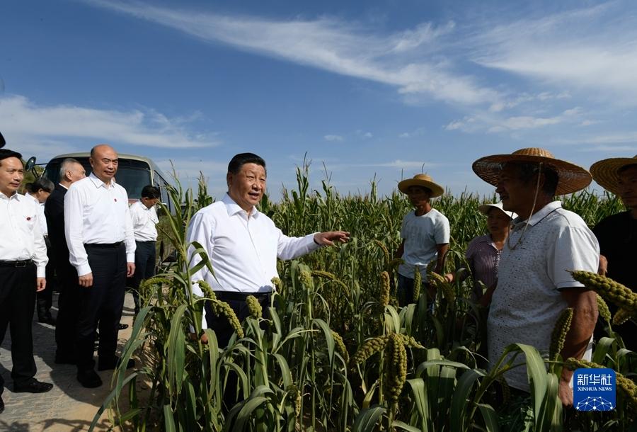 习近平在陕西榆林考察时强调 解放思想改革创新再接再厉 谱写陕西高质量发展新篇章