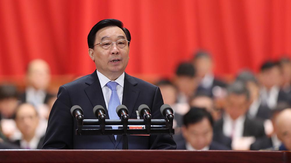 王晨作關于中華人民共和國憲法修正案草案的説明