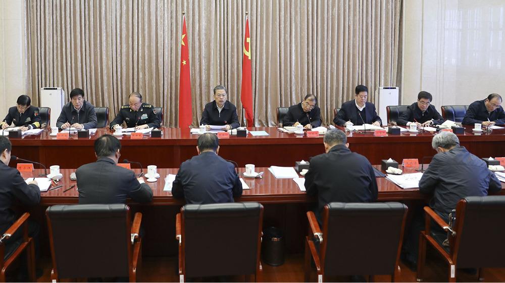 中央紀委常委會召開會議 趙樂際主持會議