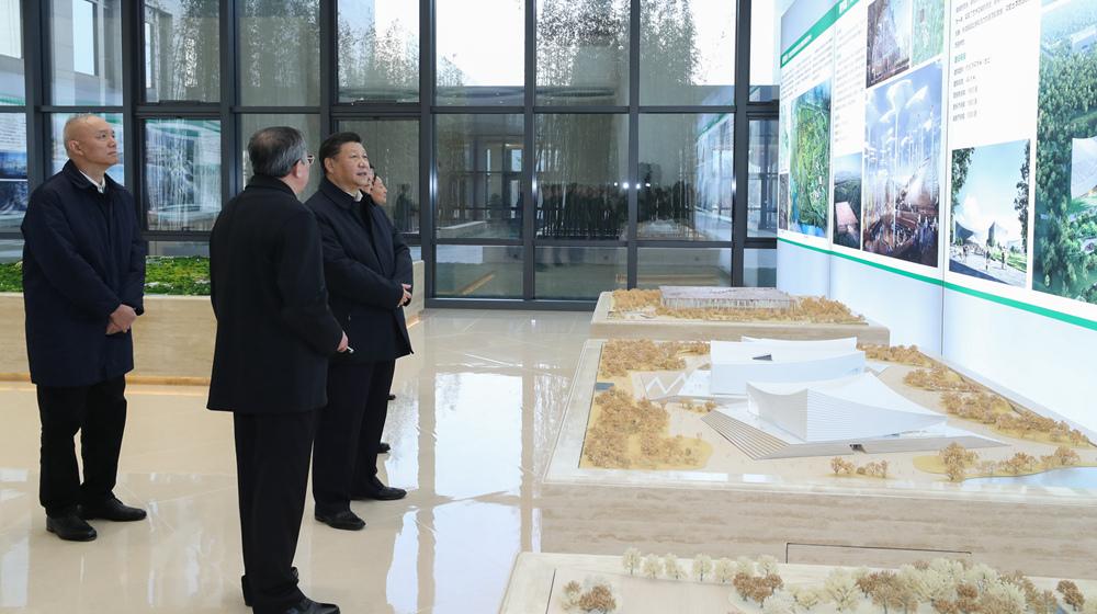 習近平在北京考察