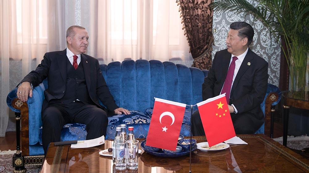 習近平會見土耳其總統埃爾多安