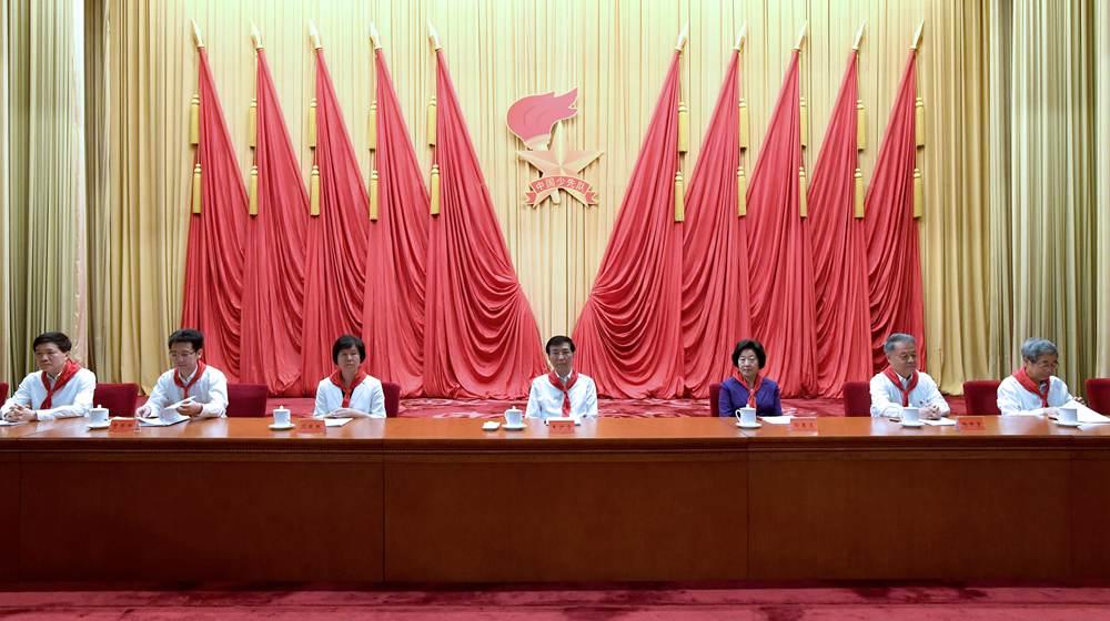 中國少年先鋒隊第八次全國代表大會在京開幕