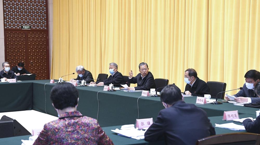 趙樂際在交通運輸部調研並召開座談會