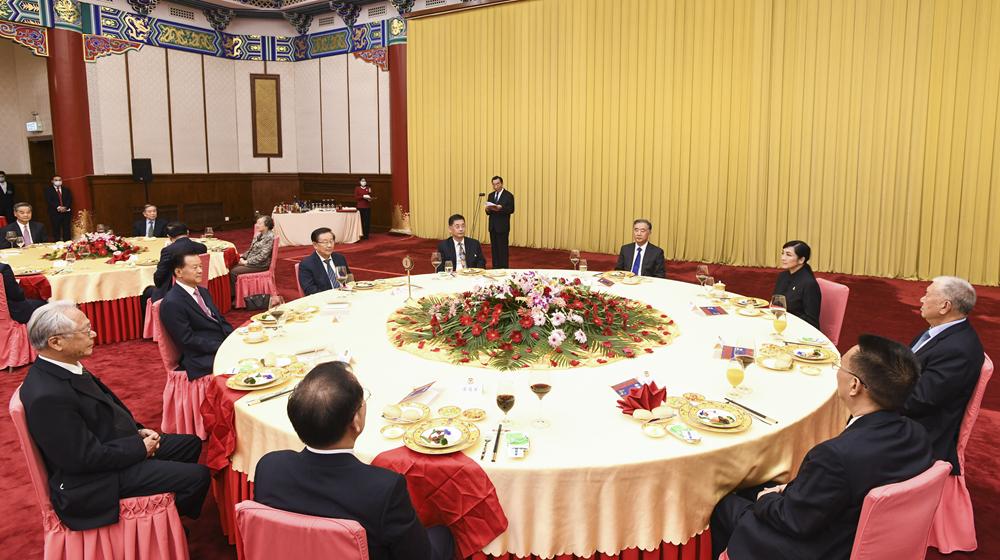 紀念辛亥革命110周年招待會在京舉行 汪洋出席