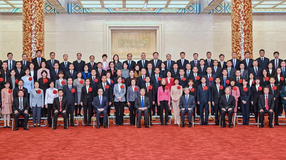 全國對臺工作係統表彰會議在京舉行 汪洋出席並講話