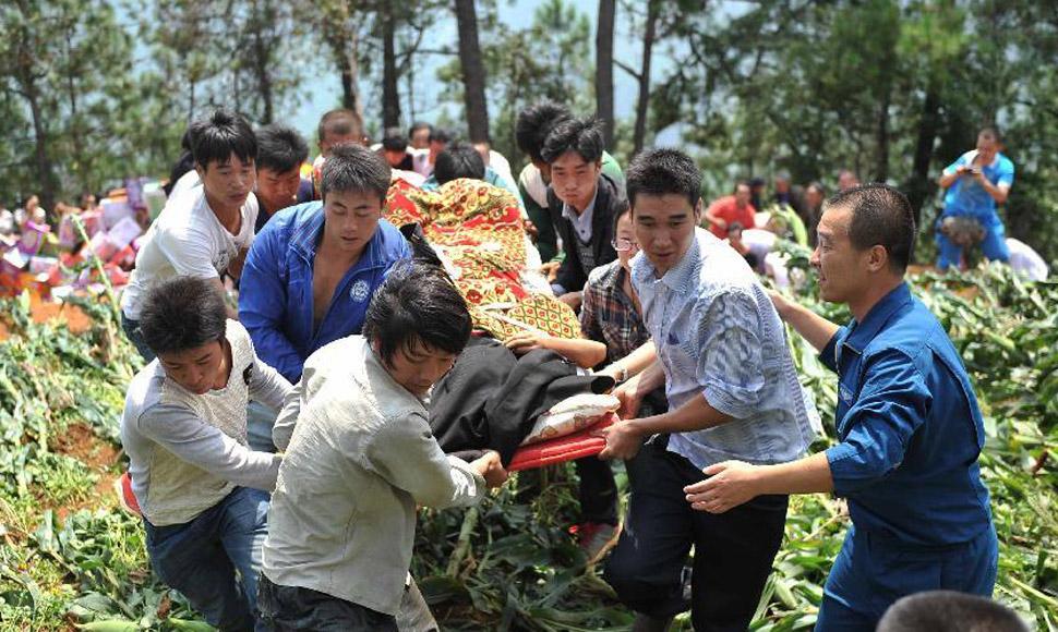 雲南魯甸地震遇難人數增至589人