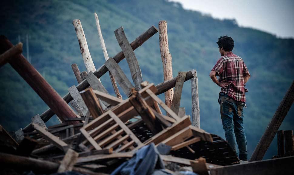 地震之後的這七天:災區人民帶著希望繼續前行