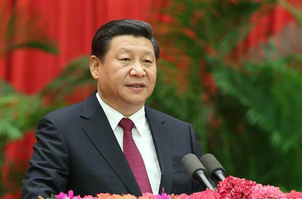 習近平在慶祝中華人民共和國成立65周年招待會上的講話