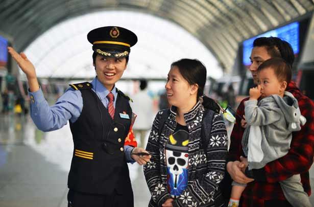 國慶假期鐵路預計共發送旅客6800萬人次